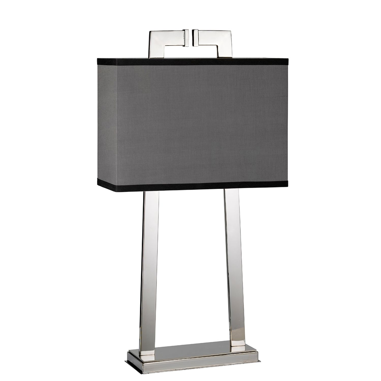 Tischleuchte KANDILA Grau H:66cm Design Bodenlampe