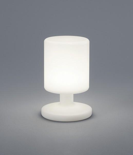 Robuste LED Tischleuchte Gartenleuchte mit Akku