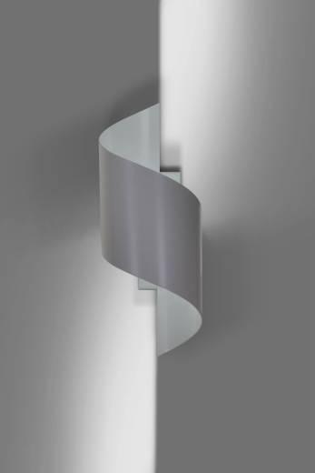 Stylische Wandleuchte Metall Grau Up Down G9