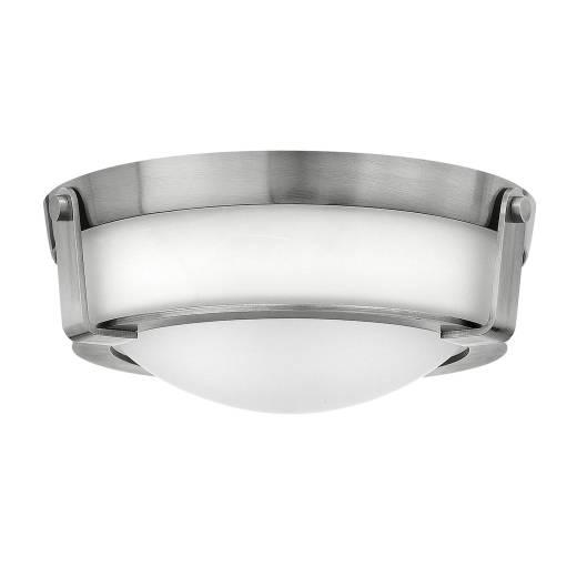 Deckenleuchte SOMBRA in Nickel Modern Ø33cm Lampe