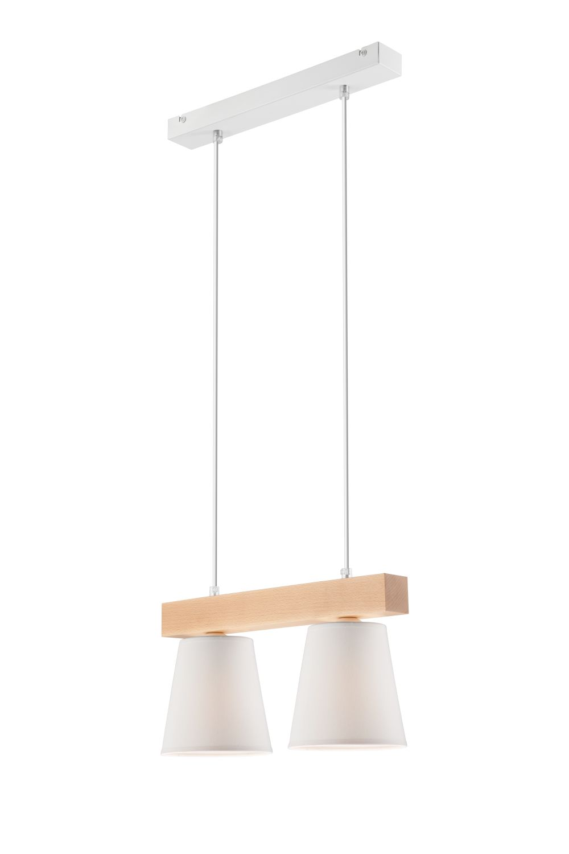 Lampen Pendelleuchte Weiß Holz Skandinavisch