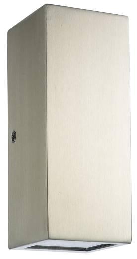 Wand Außenlampe LED 300lm SALVADOR Edelstahl IP44