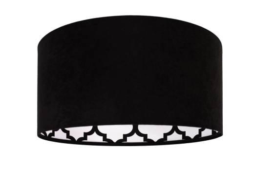 Pendellampe Schwarz Weiß Retro rund Esstisch