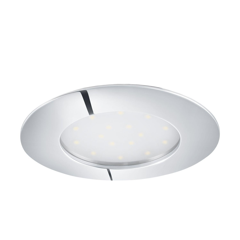 Einbau LED Spotstrahler Pineda Chrom Ø10cm