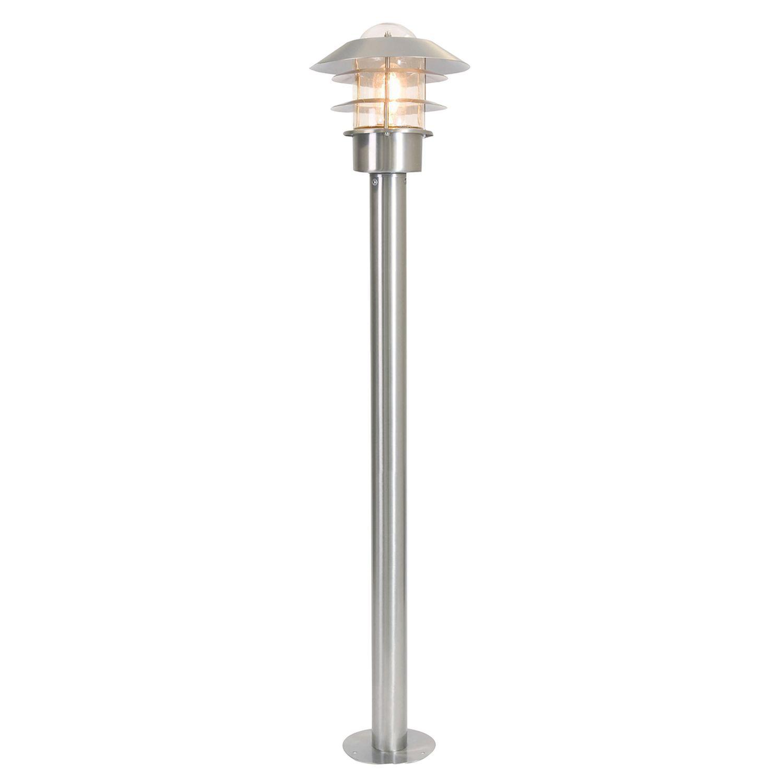 Gartenlampe Edelstahl rostfrei H:1m Maritim IP44