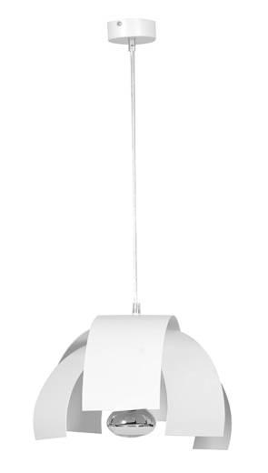 Pendelleuchte DANI Weiß Ø25cm rund Modern Design