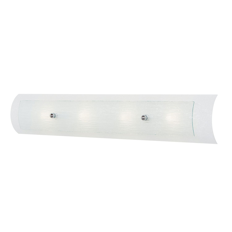 Weiße Badlampe LED 76cm lang IP44 spritzwasserdicht