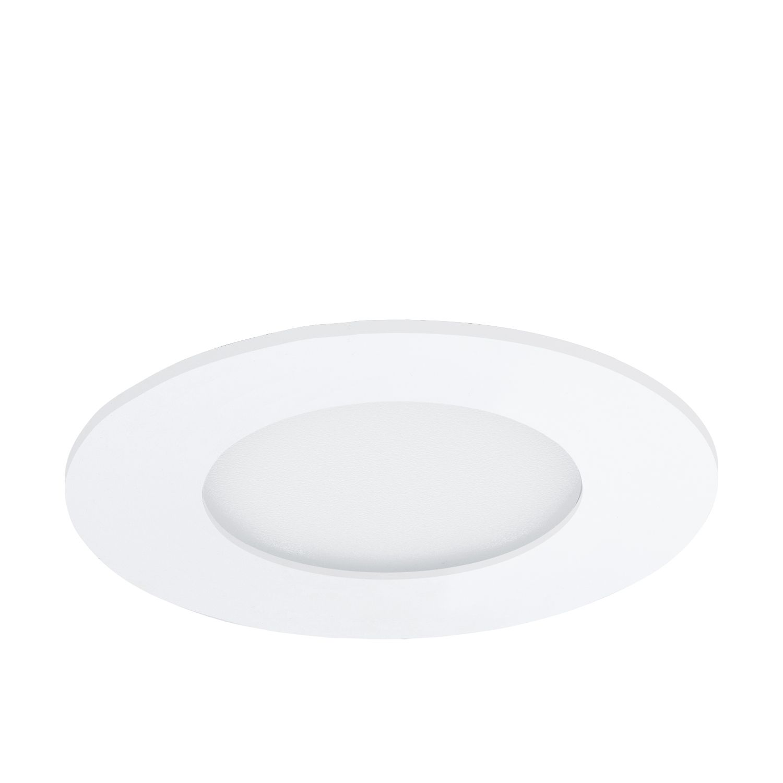 Runder Einbau LED Spotstrahler Fueva 1 Breiter Rand
