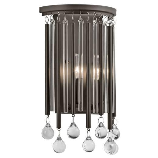 Funkelnde Wandleuchte EDIN Kristall Design Lampe