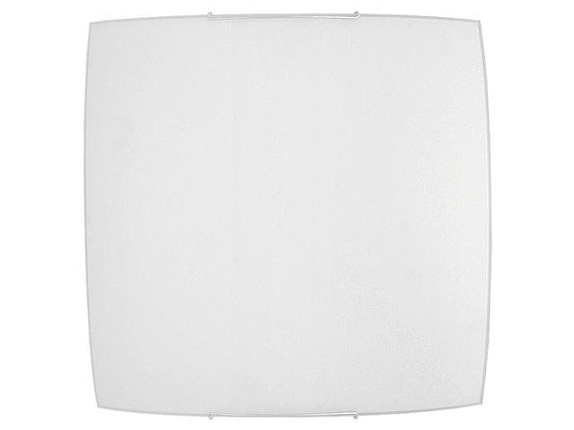 Deckenleuchte Weiß 2-flmg flach