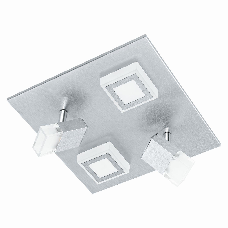 Aufbau LED Spotstrahler Masiano Satiniert 2-Flmg