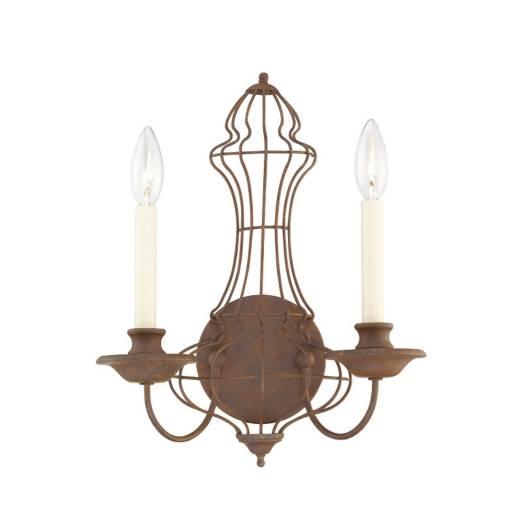 Wandleuchte CANDELA 9 Bronze Wohnzimmer Lampe