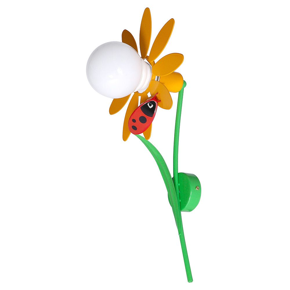 Florale Kinderleuchte BIEDRONKA in Multicolor
