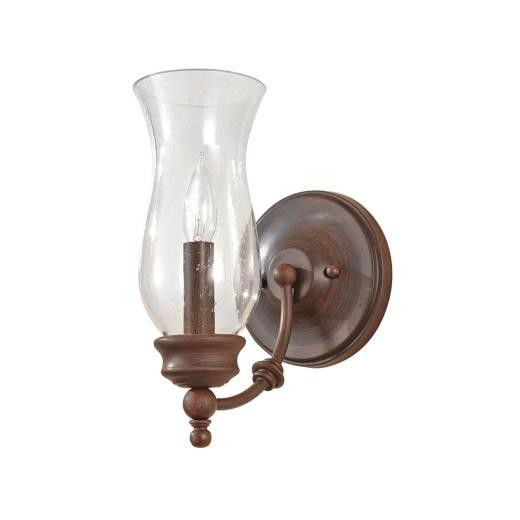 Wandleuchte JASCHA Bronze Klar Design Lampe