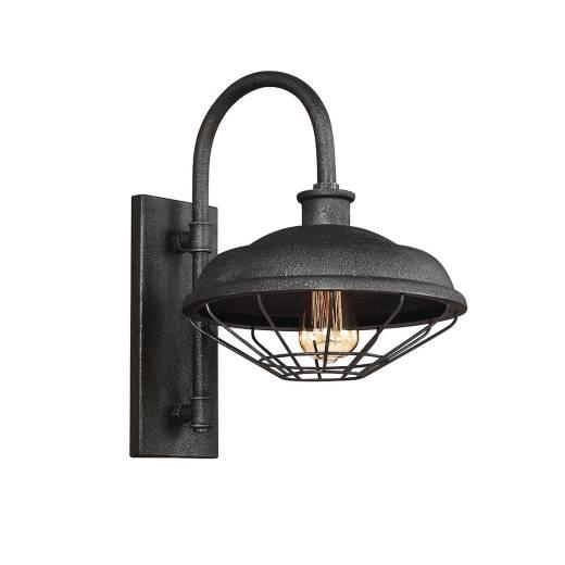Industrie Wandlampe ALVER Anthrazit Metallic B30cm