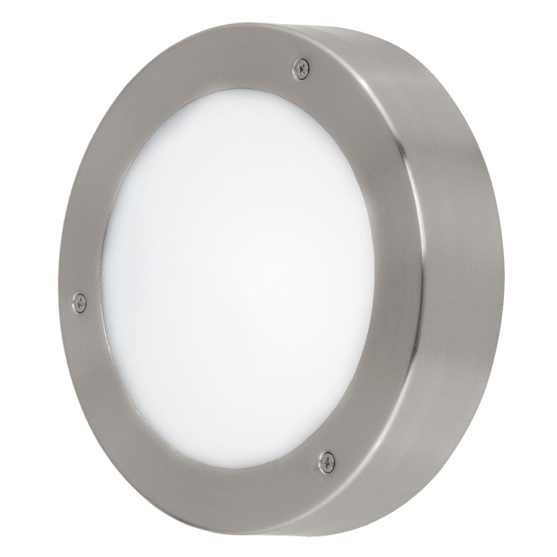 Wandleuchte LED Außen Vento 2 Weiß Ø18,5cm