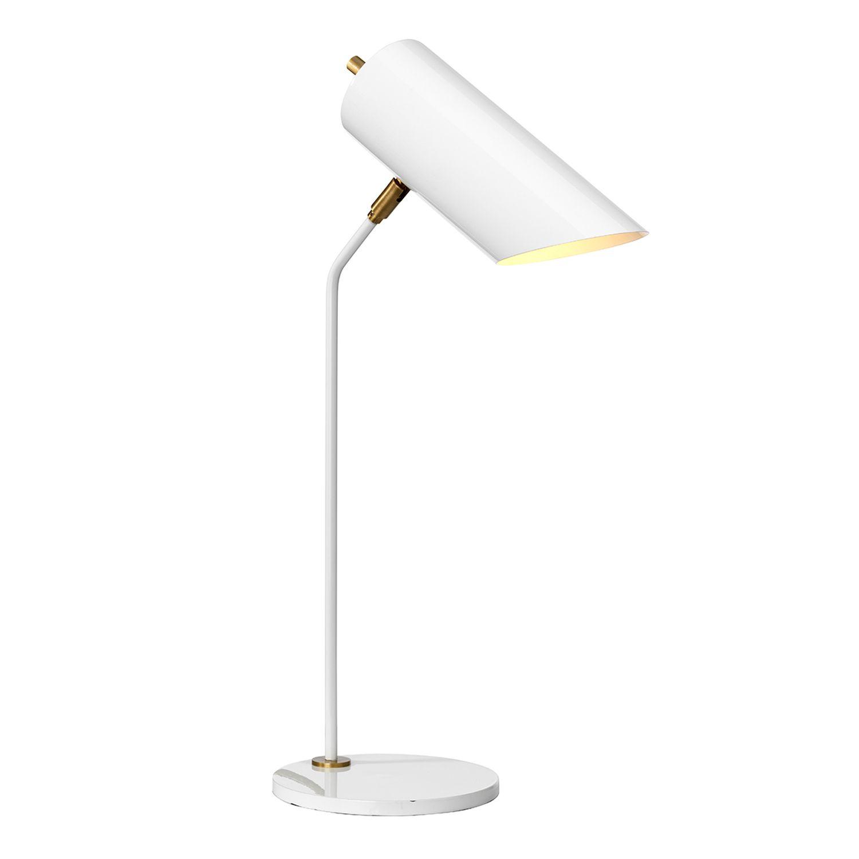 Schreibtischlampe LEYRE Weiß H:58cm Lampe Büro