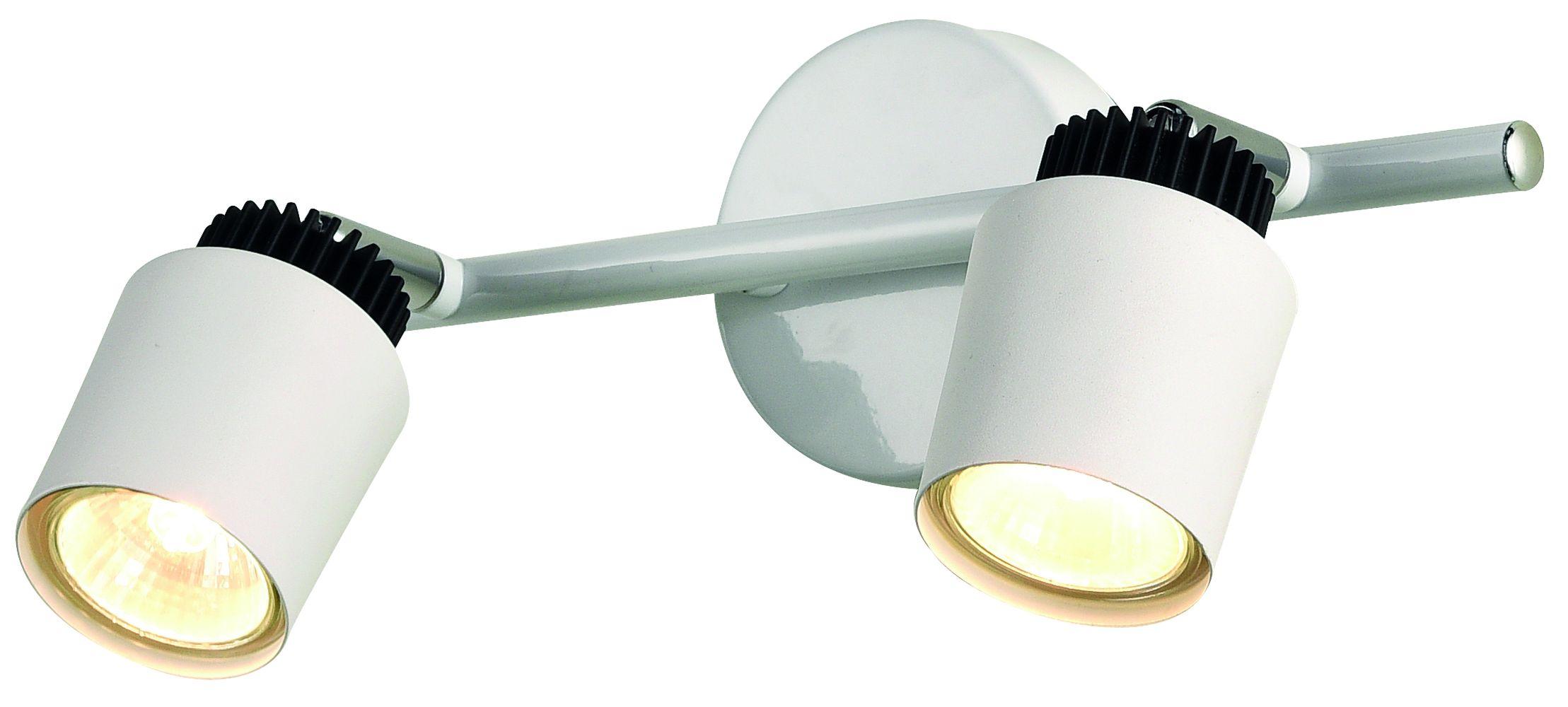Chrom Deckenstrahler Metall lang Modern TIMALA