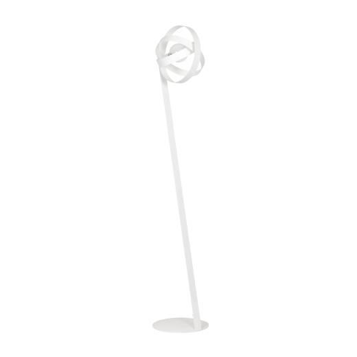 Wohnzimmer Stehlampe Weiß 150cm niedrig extravagant