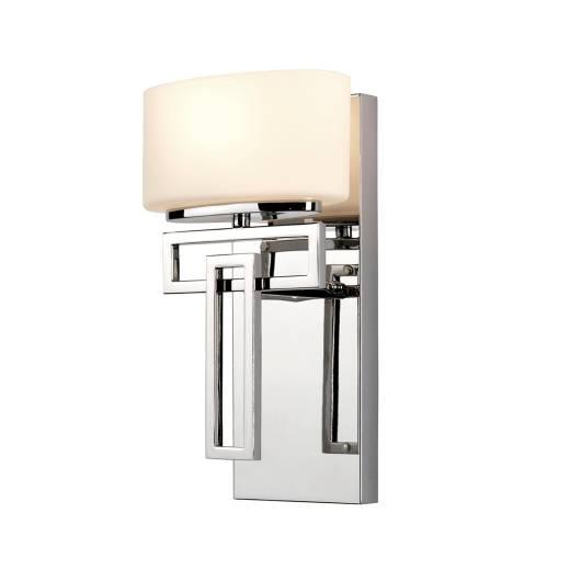 LED Badezimmer Lampe in Chrom blendarm IP44 CHINO