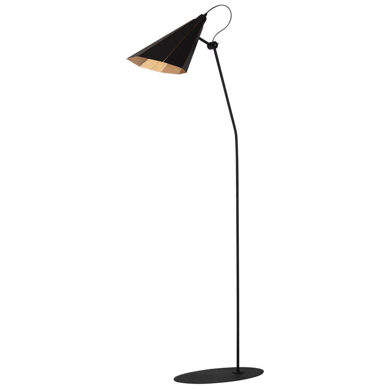 Flexible Stehlampe Couch Schwarz Stand Leseleuchte
