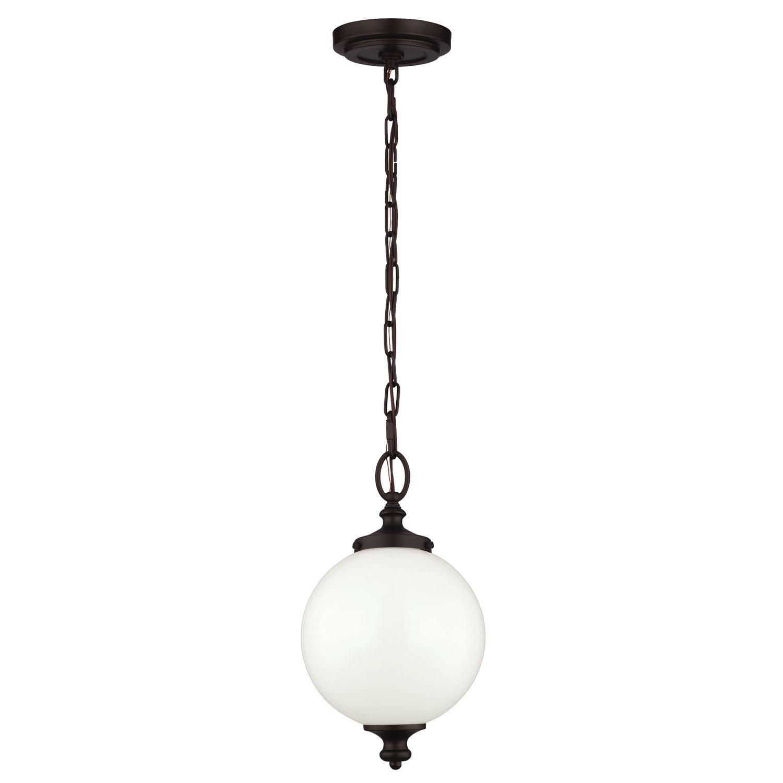 Deckenleuchte LORIN in Bronze Ø22cm Design Lampe