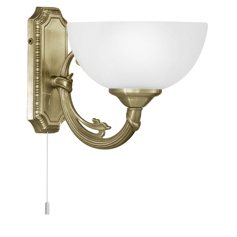 Wandlampe Savoy Weiß