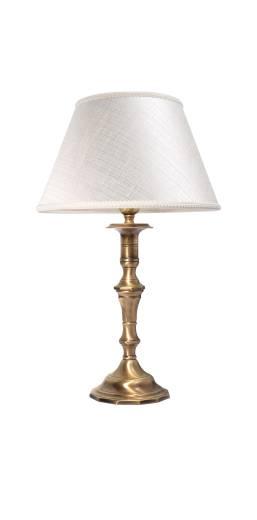 Jugendstil Nachttischlampe Weiß