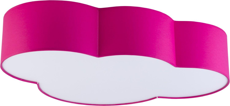 Kinderzimmer Deckenlampe WOLKI Pink 4-flmg magnetisch