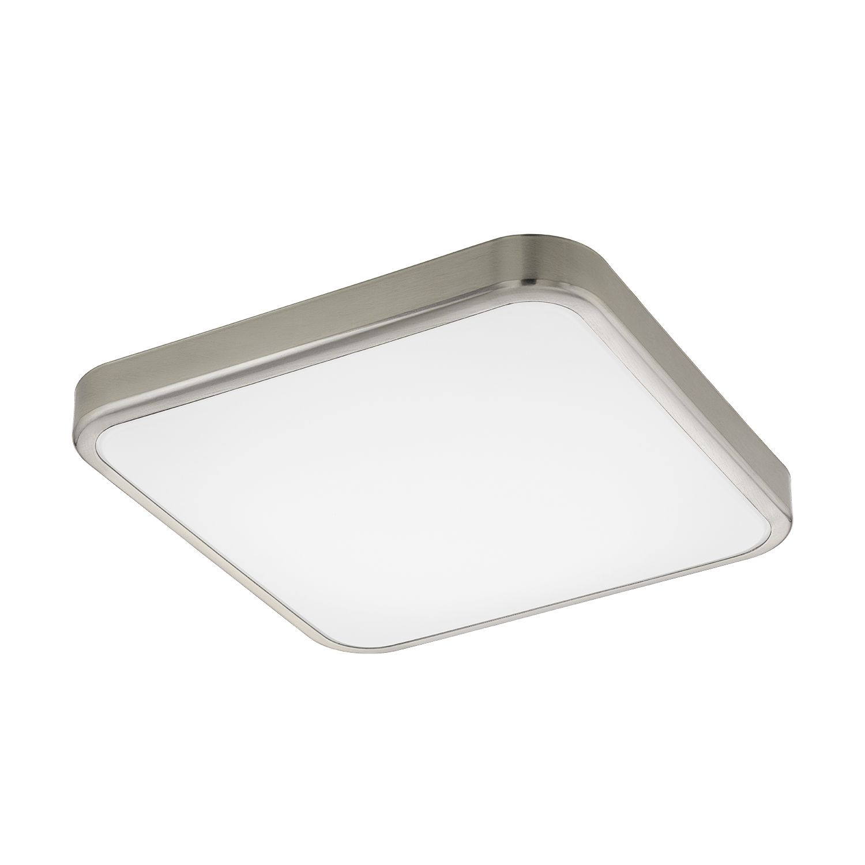Deckenleuchte LED Manilva 1 Nickel-Matt