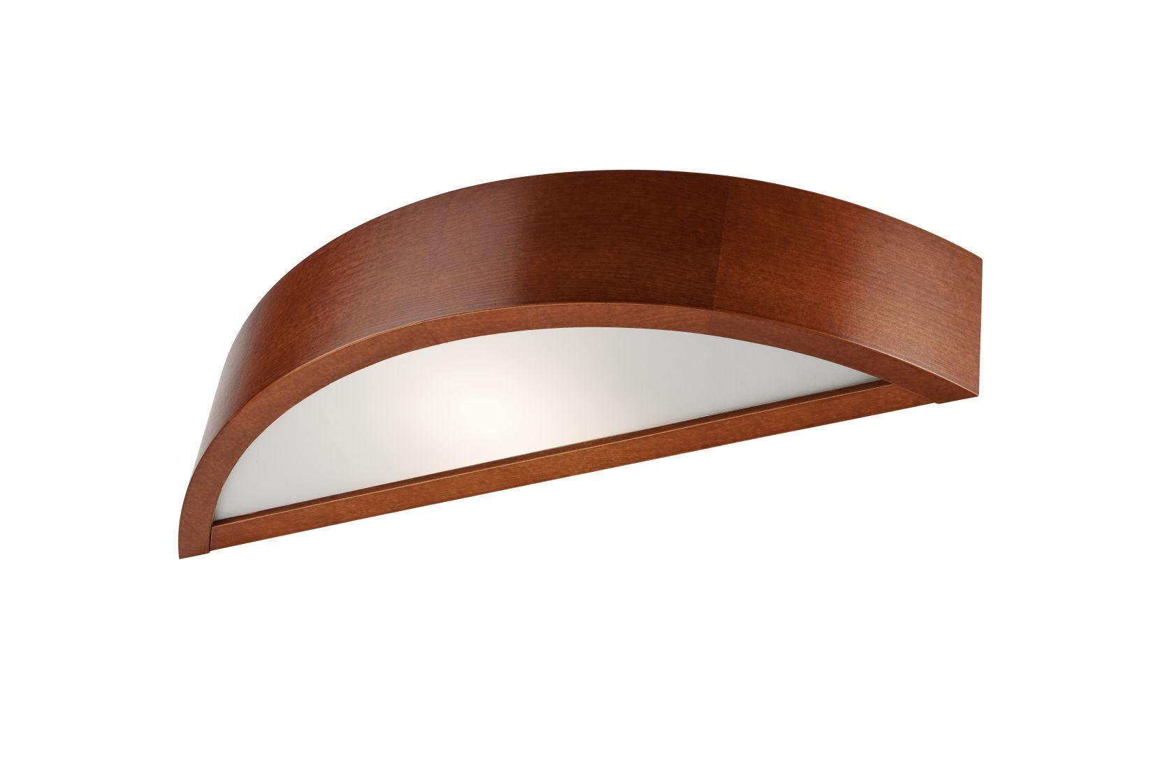 Wandleuchte Holz Flurlampe 40cm vielseitig RUDYARD