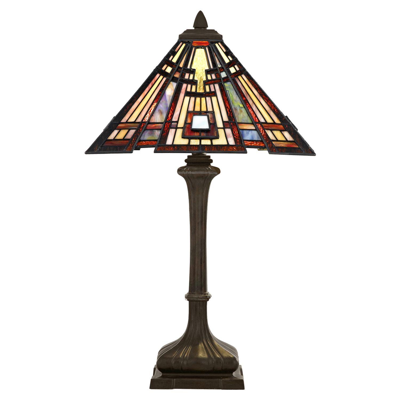 Tiffany Tischlampe ETERNO 4 74cm hoch Premium Design