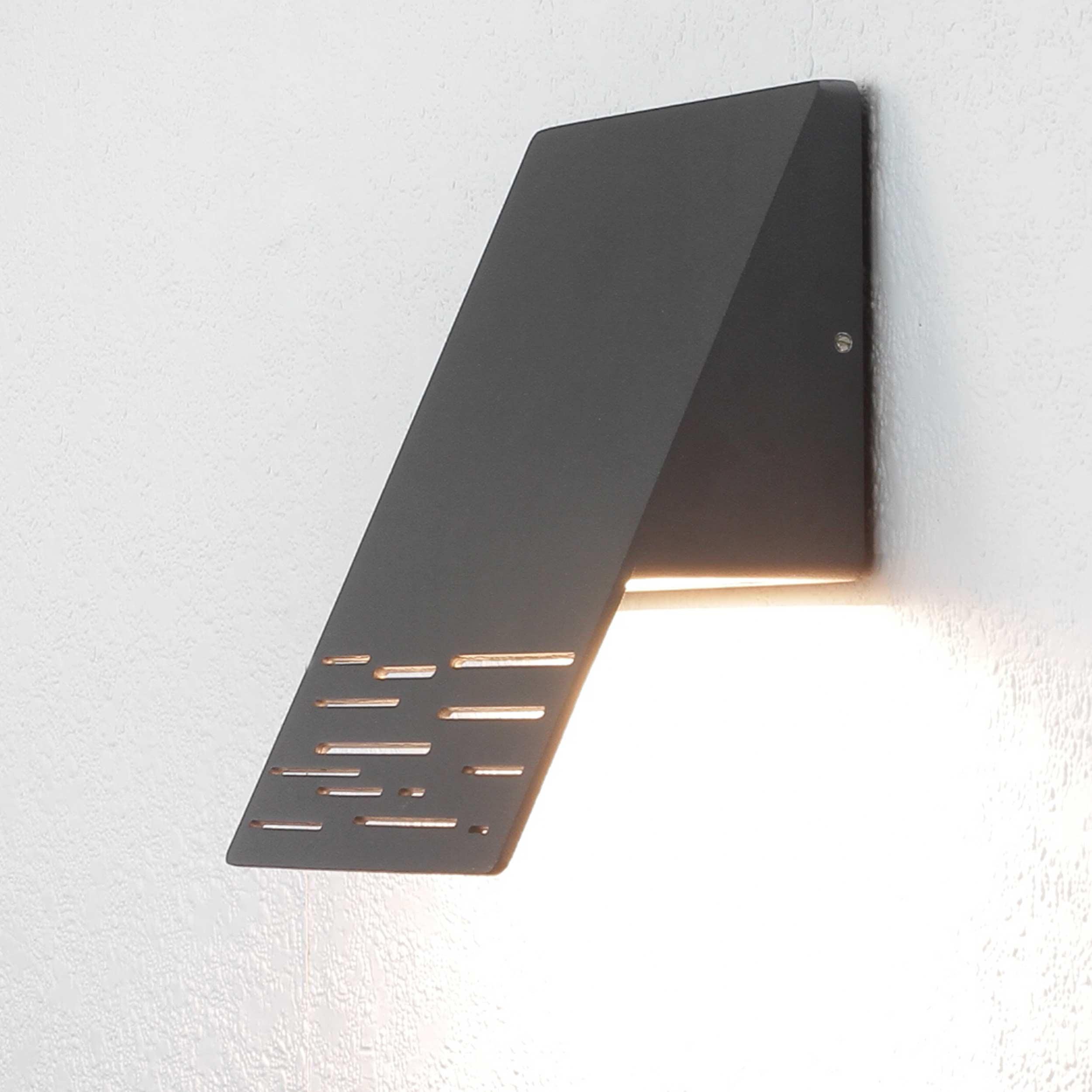 Moderne Außenwandleuchte LED anthrazit