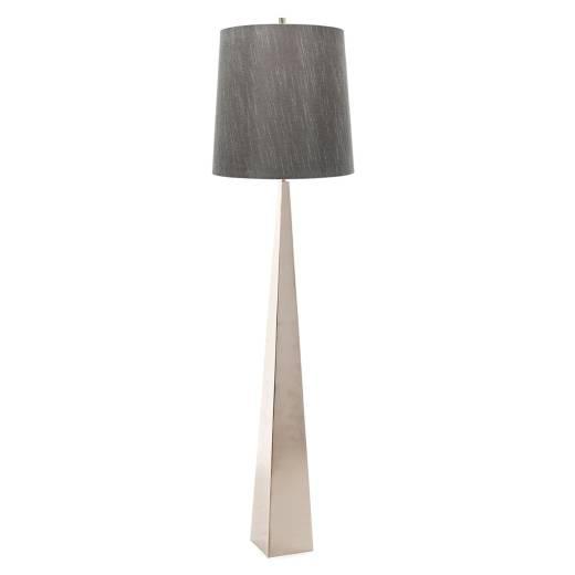 Wohnzimmer Stehlampe Stoff Metall 181cm Modern Design
