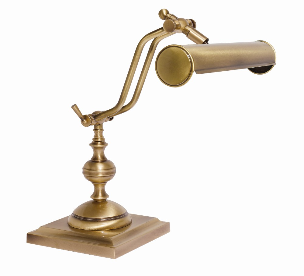 Tischlampe Bronze aus Echt-Messing Premium