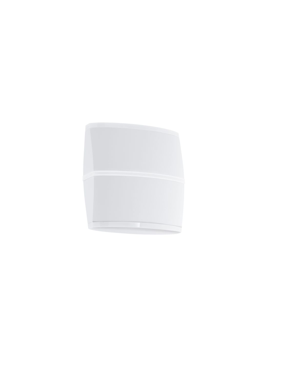 Wandleuchte LED Außen Perafita Weiß 2-Flmg