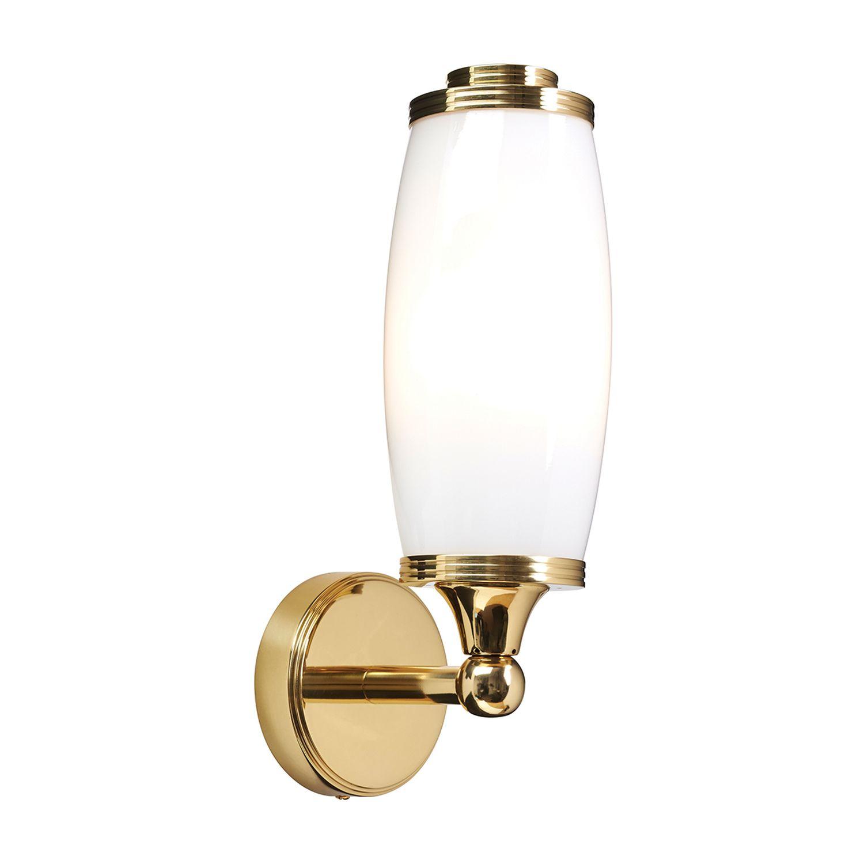 Messinglampe Bad IP44 LED spritzwasserdicht rostfrei
