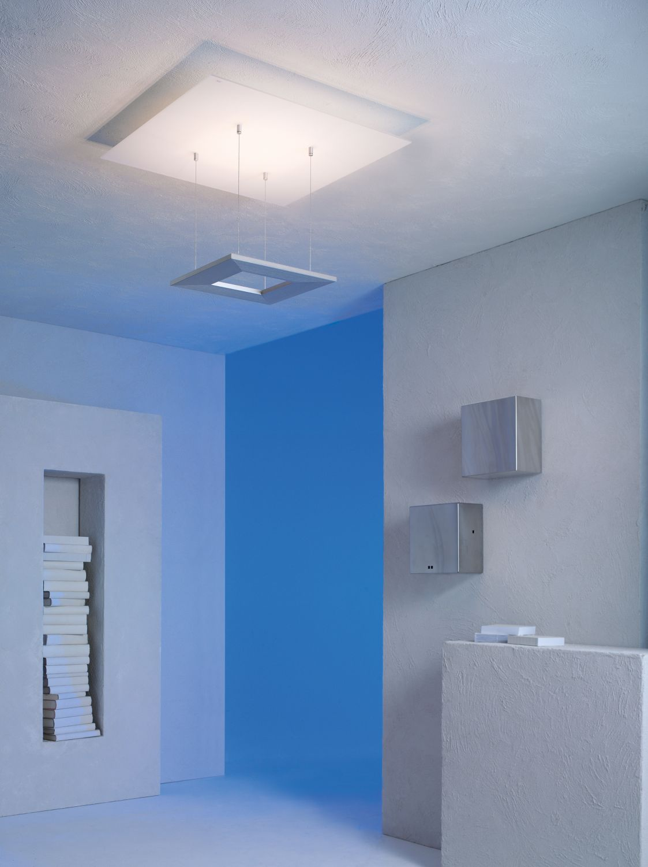 Escale - 80580800 LED Deckenleuchte Glas Aluminium Premium Design indirektes Raumlicht ZEN