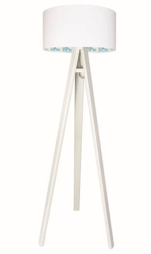 Stativ Stehlampe Weiß Eisbären Holz 140cm Kinder