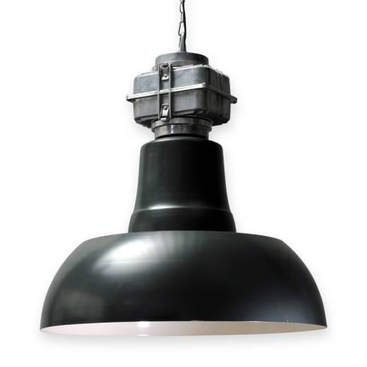 XL Industrielampe 77cm schwarz