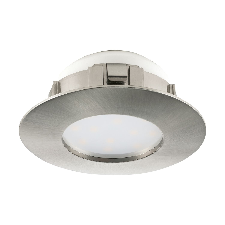 Einbau LED Spotstrahler Pineda Nickel-Matt Ø7 8cm