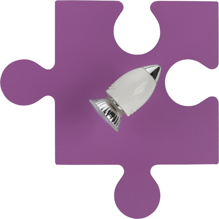 Kinderleuchte PUZZLE in Lila