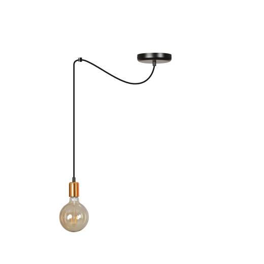 Pendellampe Schwarz minimalistisch 2m verstellbar