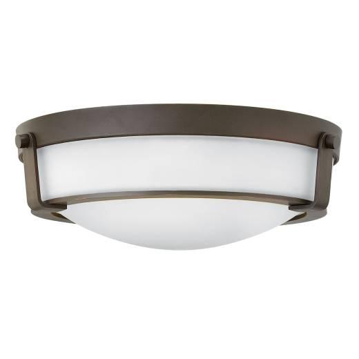 Elegante Deckenleuchte SOMBRA Braun Ø41cm Lampe