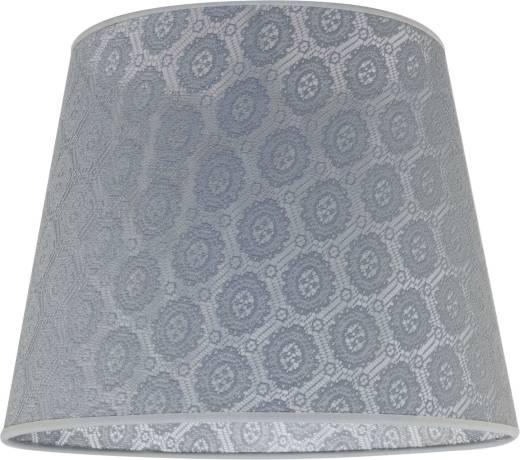 Konischer Lampenschirm Grau Hängelampe E27 Textil