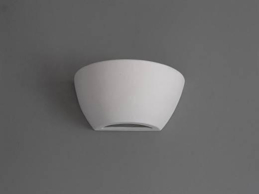 Up Down Wandleuchte Gips Keramik bemalbar Weiß