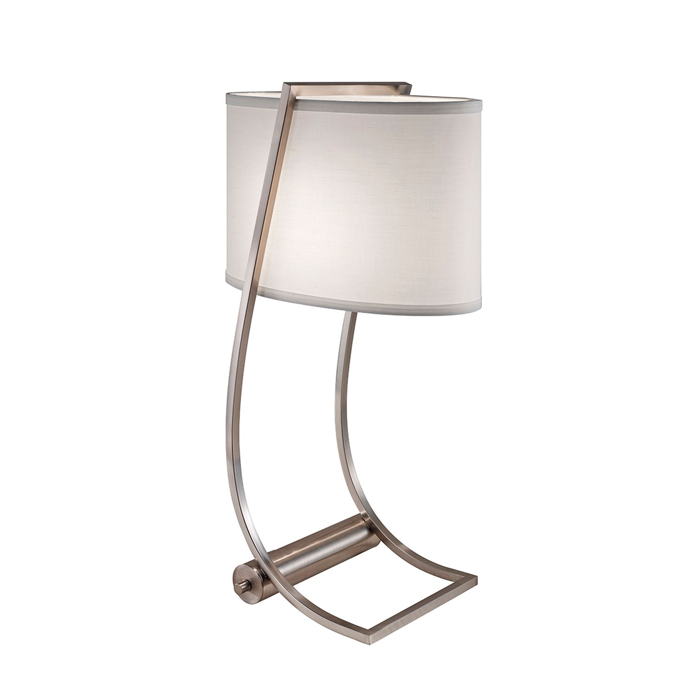 Tischlampe FEDELE Creme H:62cm Modern Bodenlampe