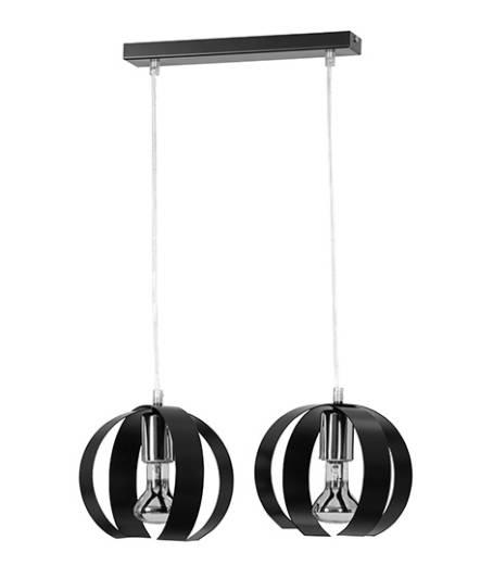 Pendelleuchte Schwarz Modern Design verstellbar