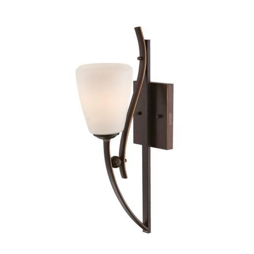 Designer Wandlampe Braun Rustikal stilvoll GENTLE