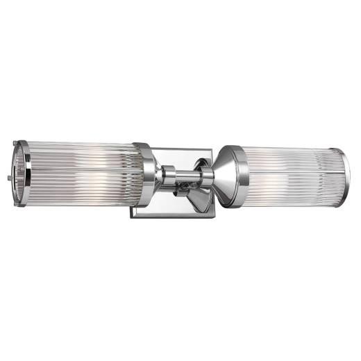 Wandleuchte Badlicht ERVA Chrom B:58cm Bad Lampe